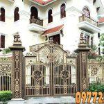 Cổng Nhôm Đúc Tại Thanh Hóa