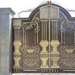Cổng Nhôm Đúc Cho Biệt Thự