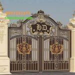 Cổng Nhôm Đúc Tại Hưng Yên
