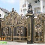 Cổng Nhôm Đúc Tại Đông Anh Hà Nội