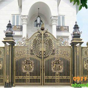 Mẫu cổng phù điêu hiện nay