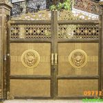 Cổng Nhôm Đúc Tại Quảng Ninh