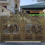 Cổng Nhôm Đúc tại Hoài Đức giá rẻ nhất uy tín chất lượng