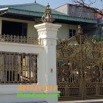 Cổng Nhôm Đúc Tại Bắc Ninh