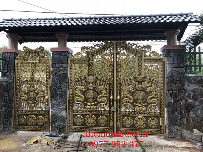 Cổng nhôm đúc tại Thái Bình