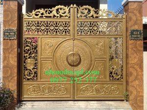 Công ty nhôm đúc Quang Đại sản xuất lắp đặt cổng nhôm đúc ở Lào Cai