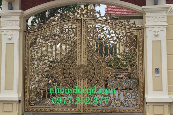 Cổng nhôm đúc tại Ninh Bình giá rẻ nhất