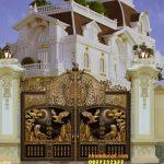 Cổng nhôm đúc tại Ninh Bình đẹp uy tín chất lượng