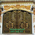 Cổng nhôm đúc tại Phú Thọ giá rẻ uy tín chất lượng