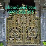Cổng nhôm đúc tại Sơn La giá rẻ nhất uy tín bảo hành dài hạn