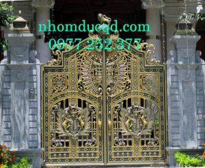 cổng nhôm đúc tại Sơn La do công ty Quang Đại sản xuất