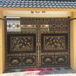 Cổng nhôm đúc tại Vĩnh Phúc giá rẻ uy tín chất lượng