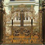 Cổng nhôm đúc tại Nam Định uy tín chất lượng giá rẻ nhất
