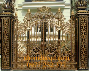 Cổng nhôm đúc tại Nam Định
