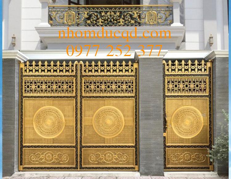 Lắp đặt cổng nhôm đúc tại Thái Nguyên